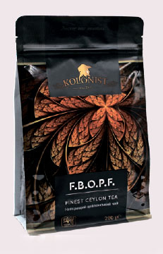 KOLONIST черный чай FBOPF 200g