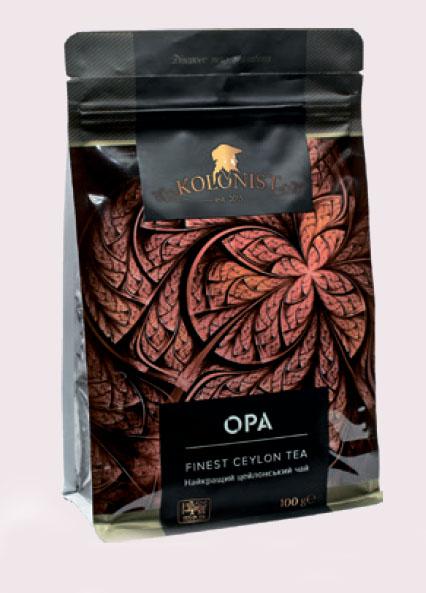 KOLONIST черный чай OPA 100g