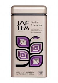 "JAFTEA (Джаф Ти) черный чай ""Цейлонский полдень"" (Ceylon Afternoon) жестяная банка 125g"