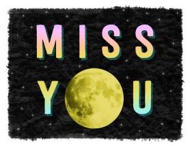 miss you moon - dark