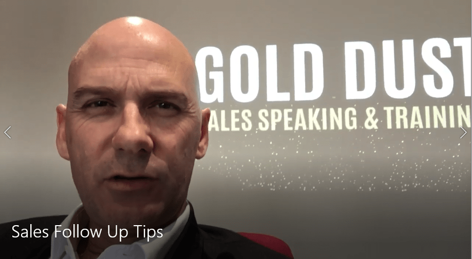 Follow up tips for Sales