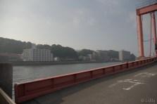 広島港から出航