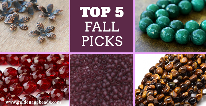 Top 5 Picks For Fall Jewelry Making Projects