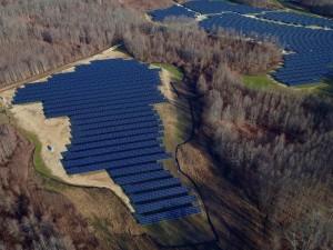 12.8 MW Utility Project - the World's Largest Bifacial PV Installation in Eastern US (PRNewsFoto/Sunpreme, Inc.)
