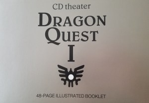 Dragon quest 1 cd theater booklet cover