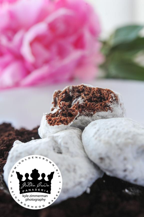 Chocolate Wedding Cookies