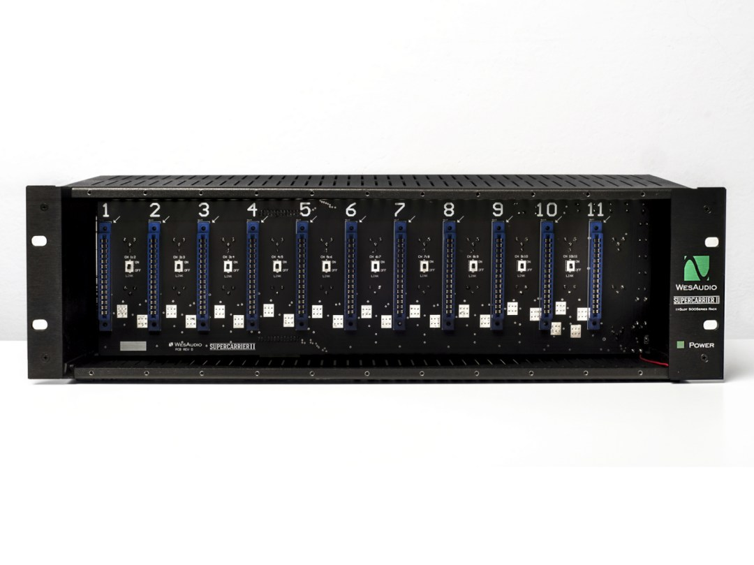 wes audio Supercarrier-II-front