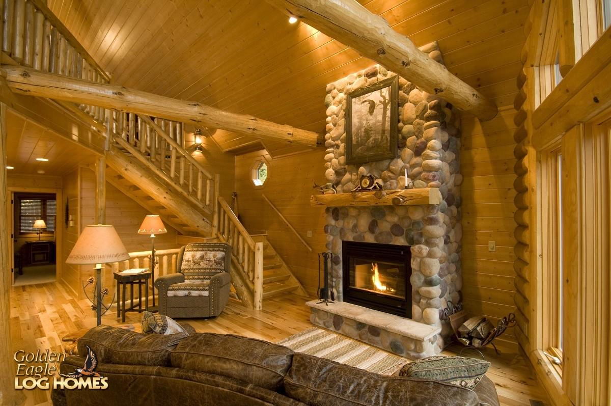 Golden Eagle Log And Timber Homes Log Home Cabin