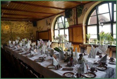 Cafe - Tafel für Hochzeit oder Hochzeitstag eingerichtet 30 PAX (11)