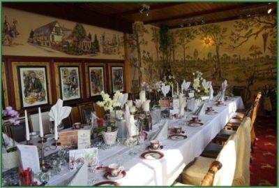 Cafe - Tafel für Hochzeit oder Hochzeitstag eingerichtet 30 PAX (12)