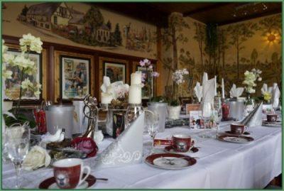 Cafe - Tafel für Hochzeit oder Hochzeitstag eingerichtet 30 PAX (25)