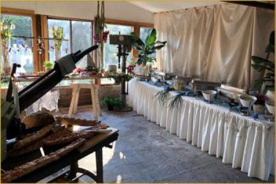 Catering in einer alten Tischlerei (2)