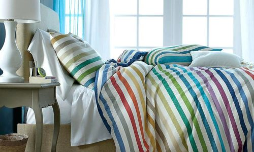 Stripped Comforters Golden Falcon Upholstery & Furniture | UAE