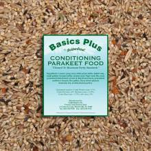 Basics Plus Conditioning Parakeet Food