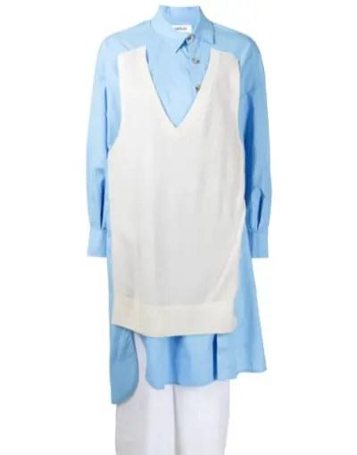 ENFOLD マルチパネル シャツドレス
