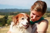 Nelleke and her owner -- Photo courtesy of Henna Palmunen