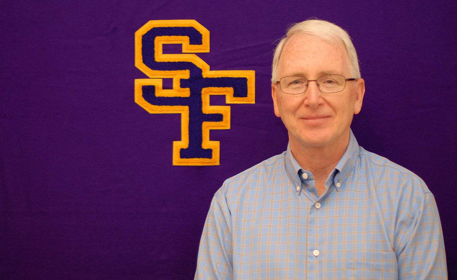 Bill Nepfel, Associate Director of Athletics for Compliance, is named the interim athletic director after Athletic Director Michael J. Simpson retirement. Photo by Samantha Benedict / Xpress