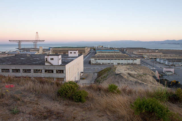 SF State plans to extend to more than 60,000 square feet of open space at Hunter's Point Shipyard as part of a redevelopment project. Photo taken Monday, Sept. 15, 2014. Eric Gorman / Xpress