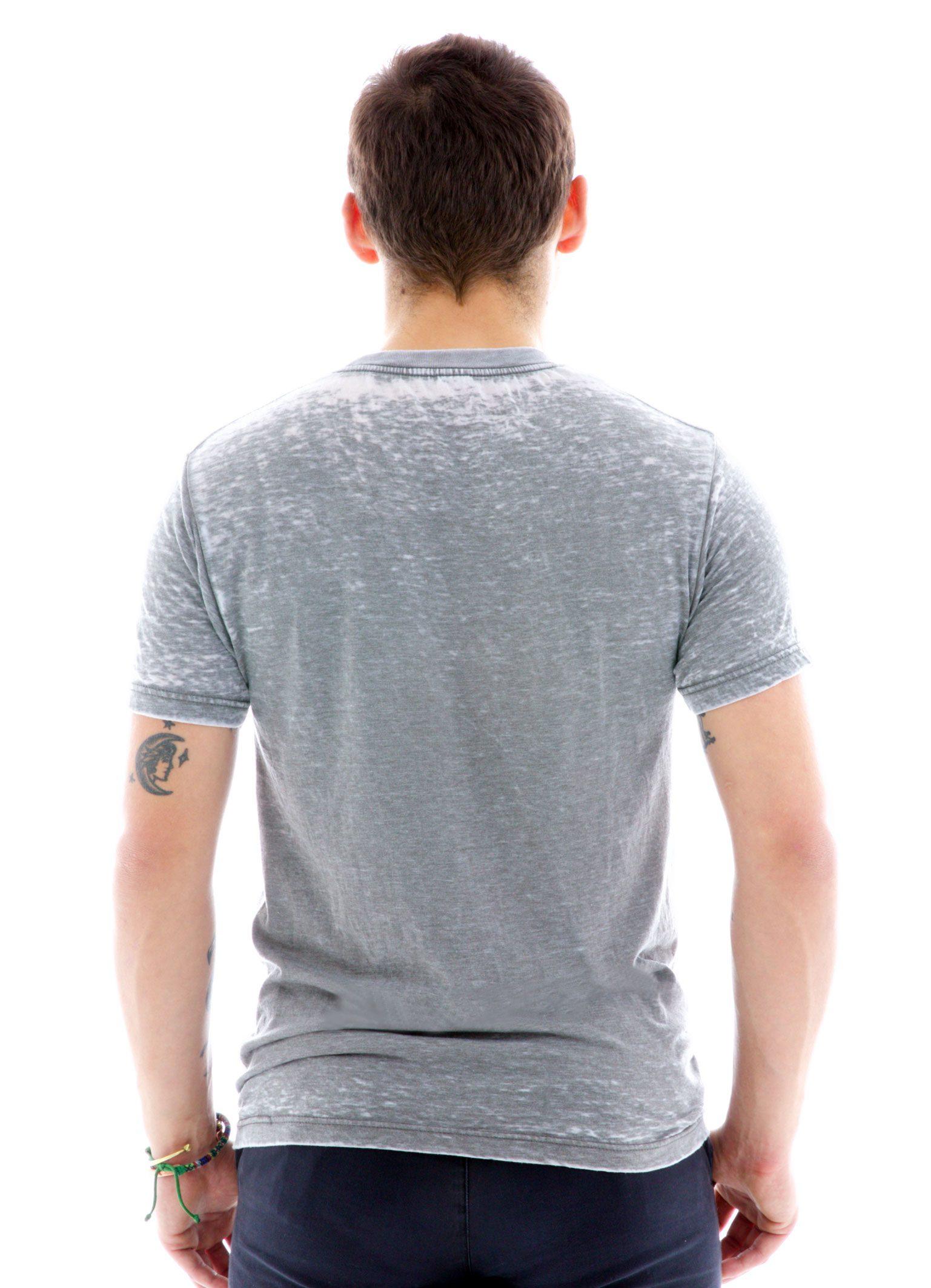Burnout Crew Short Sleeve T-Shirt Back View