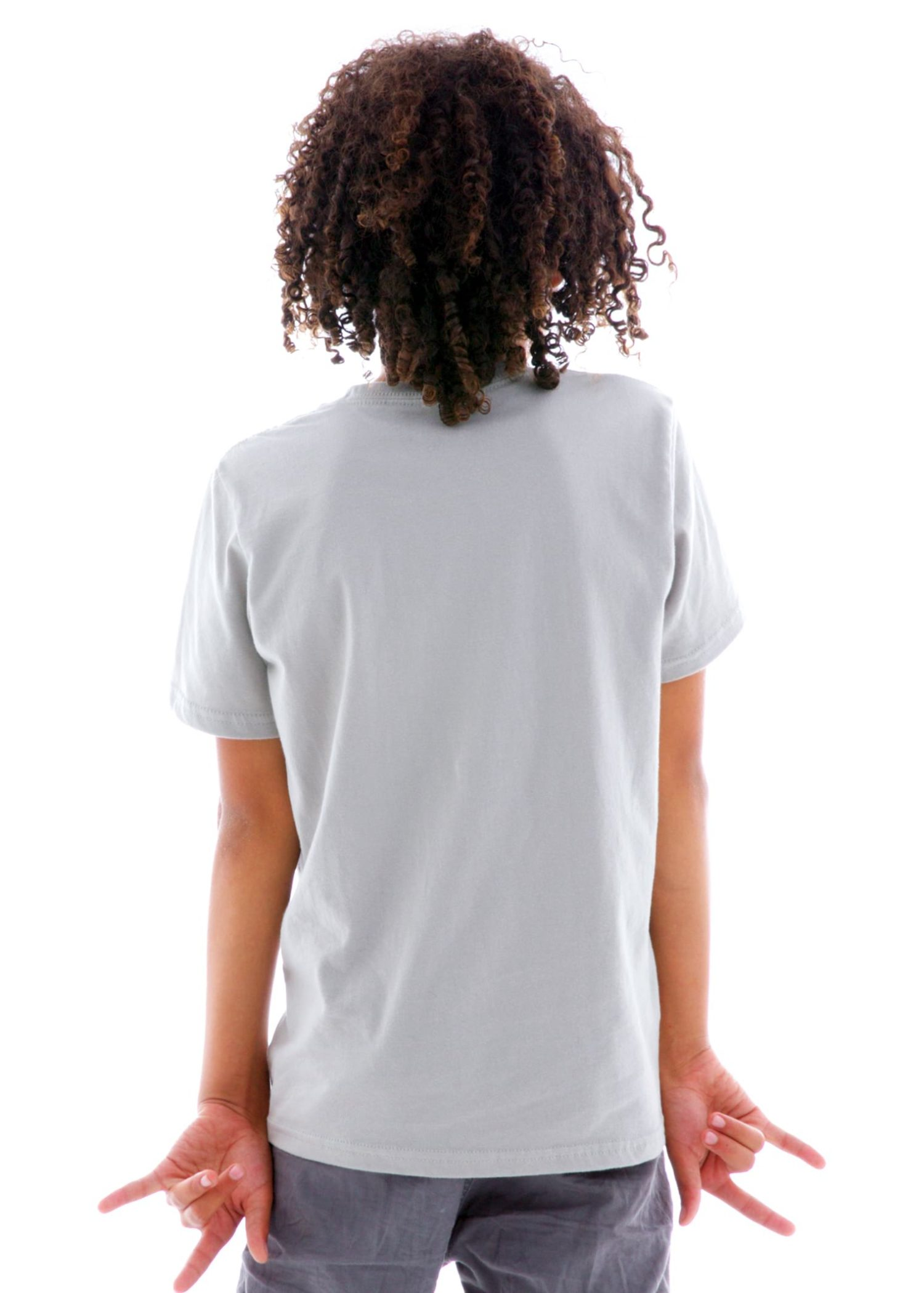 Short Sleeve Crew T-Shirt Back View