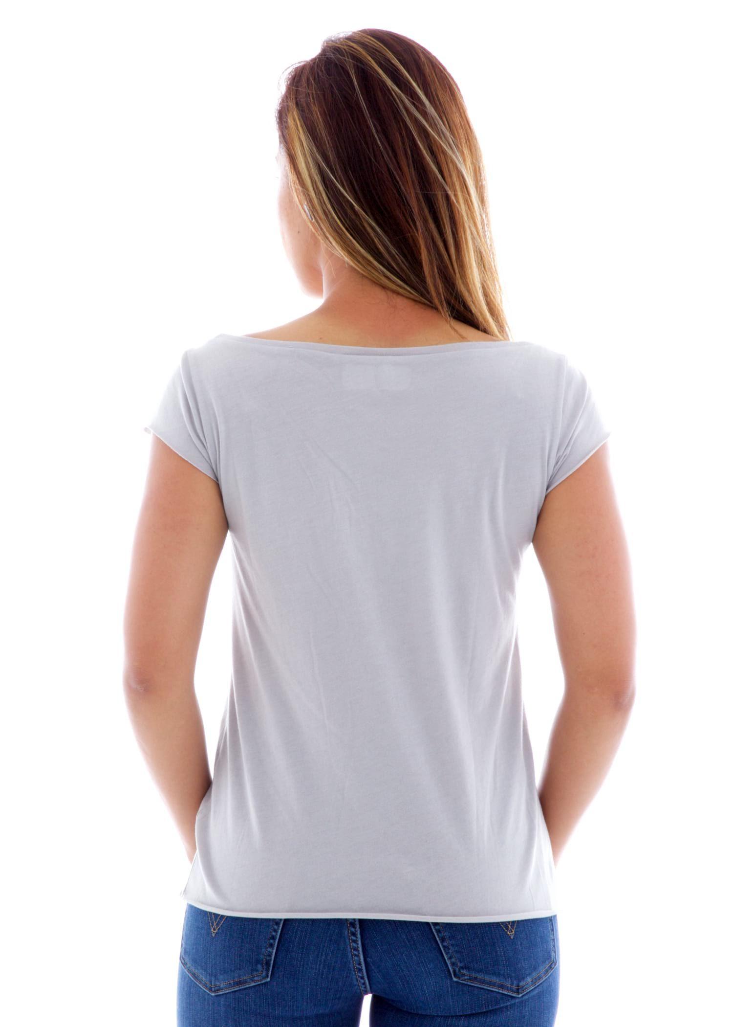 Rocker Muscle Crew Short Sleeve T-Shirt Back View