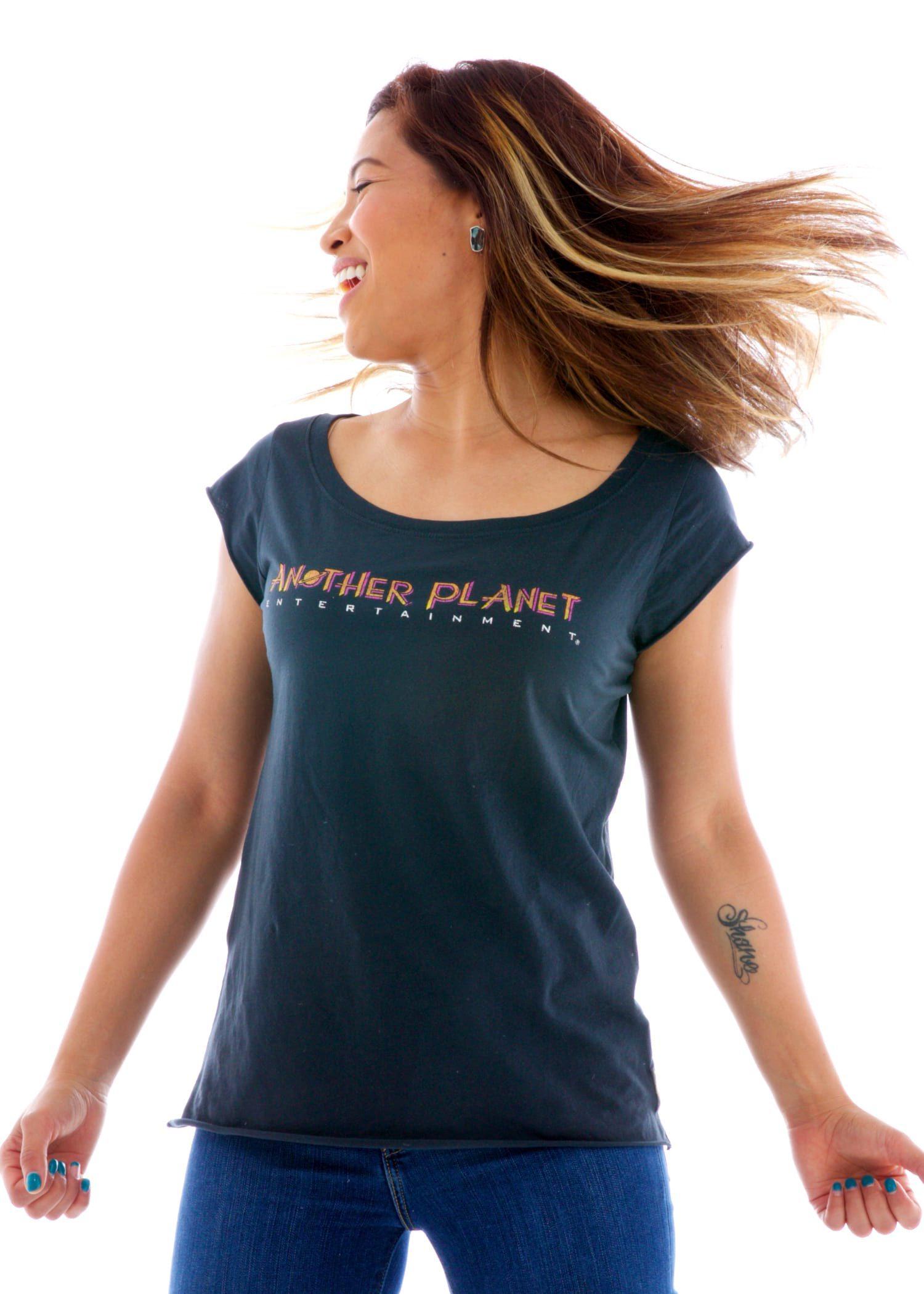 Women's Rocker Muscle Crew Short Sleeve T-Shirt