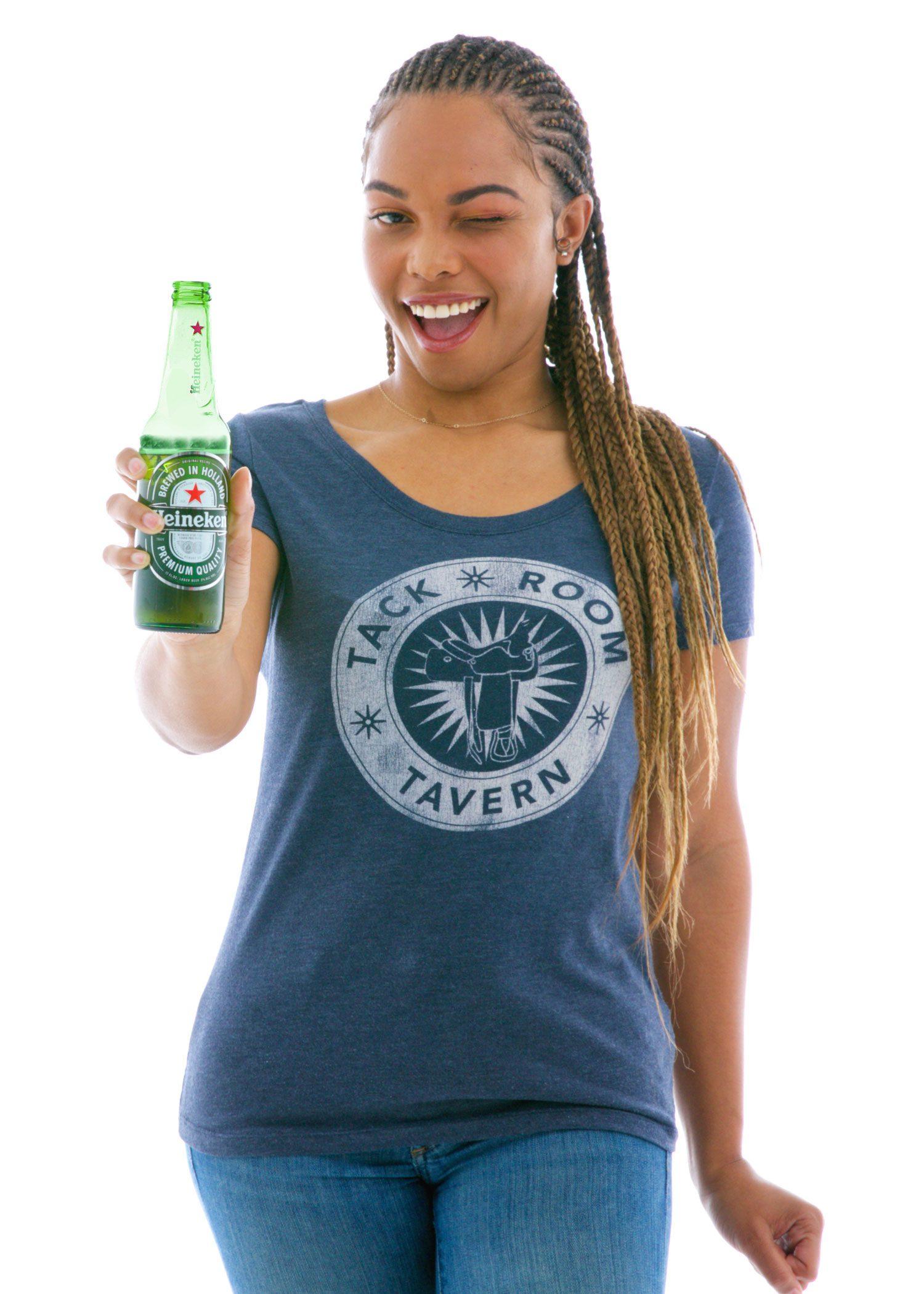 Women's Luscious Triblend Scoop Short Sleeve T-Shirt
