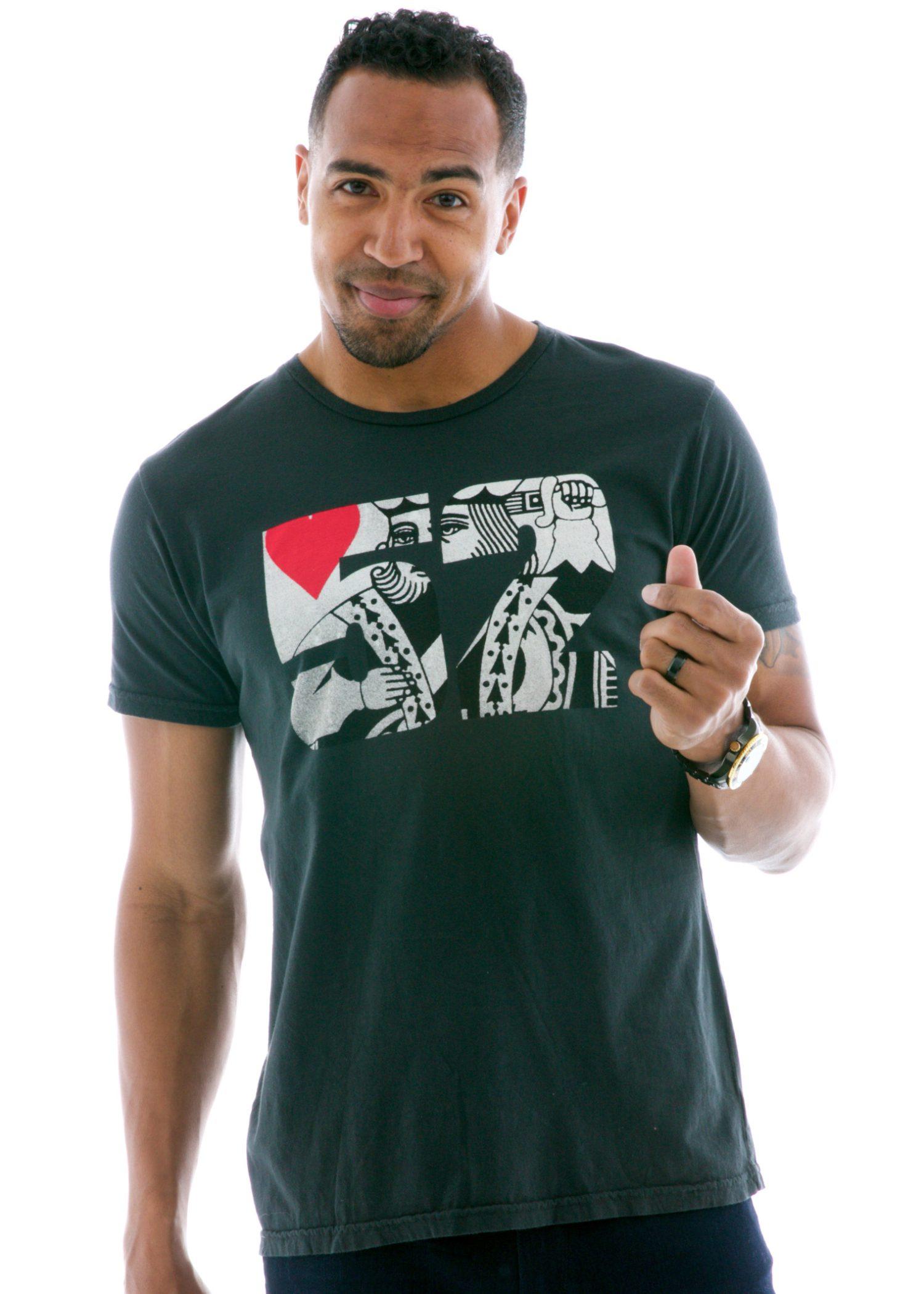 Men's Superfine Jersey Fashion Crew Short Sleeve T-Shirt