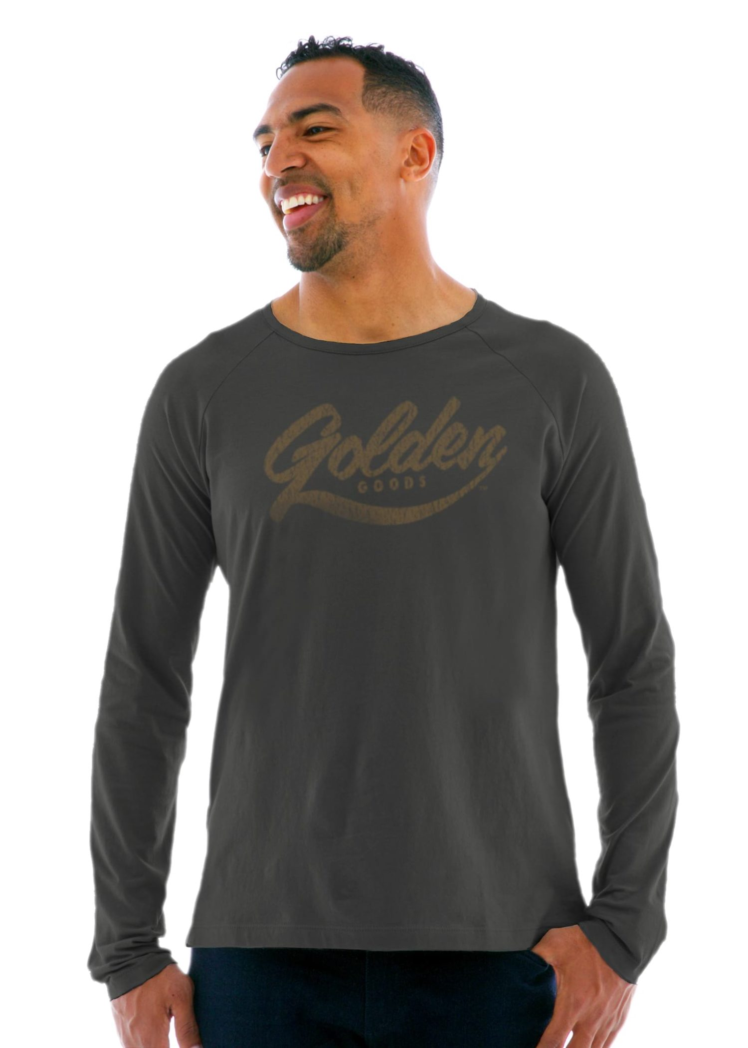 Men's Long Sleeve Raglan Crew T-Shirt