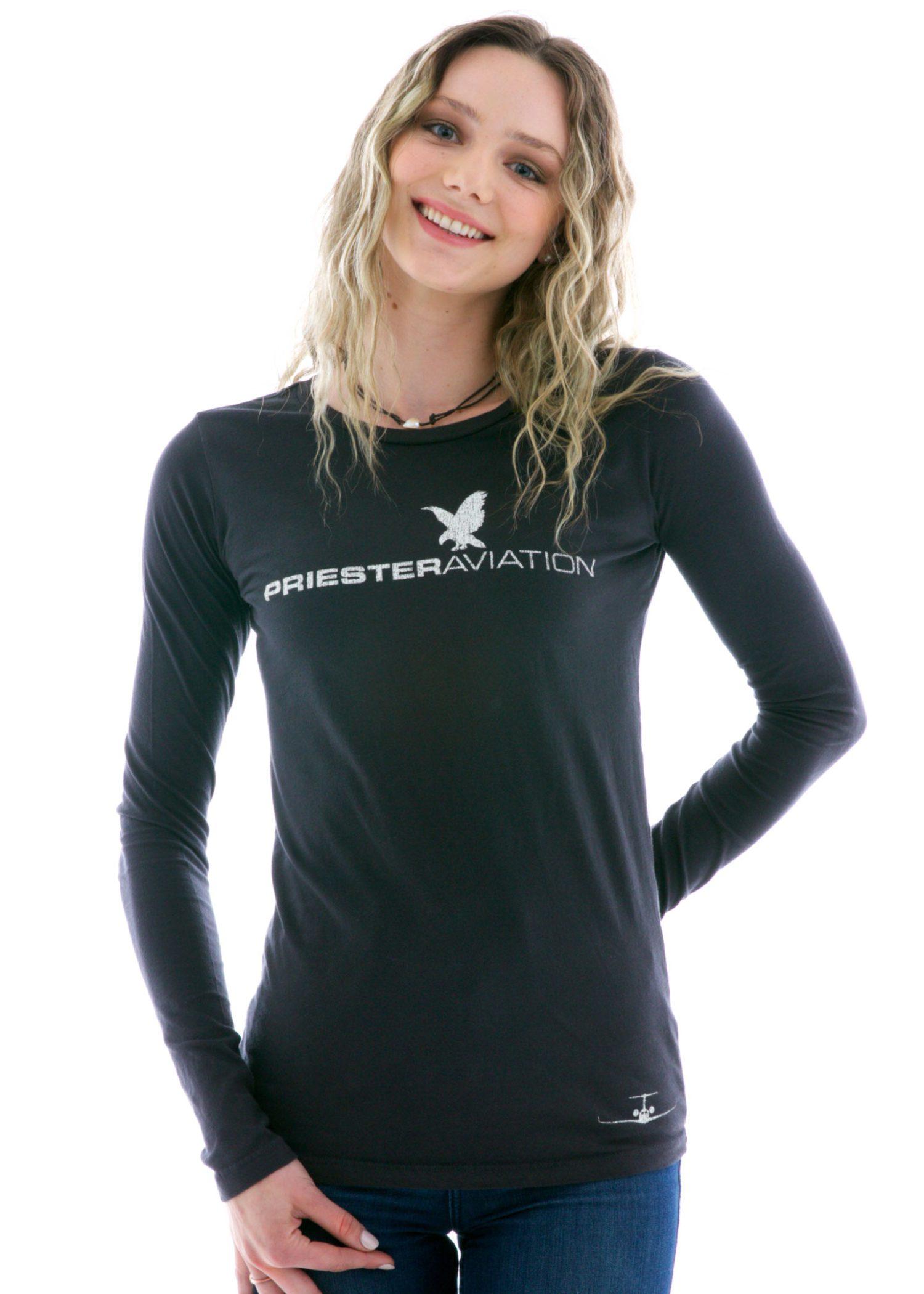 Women's Long Sleeve Crew T-Shirt