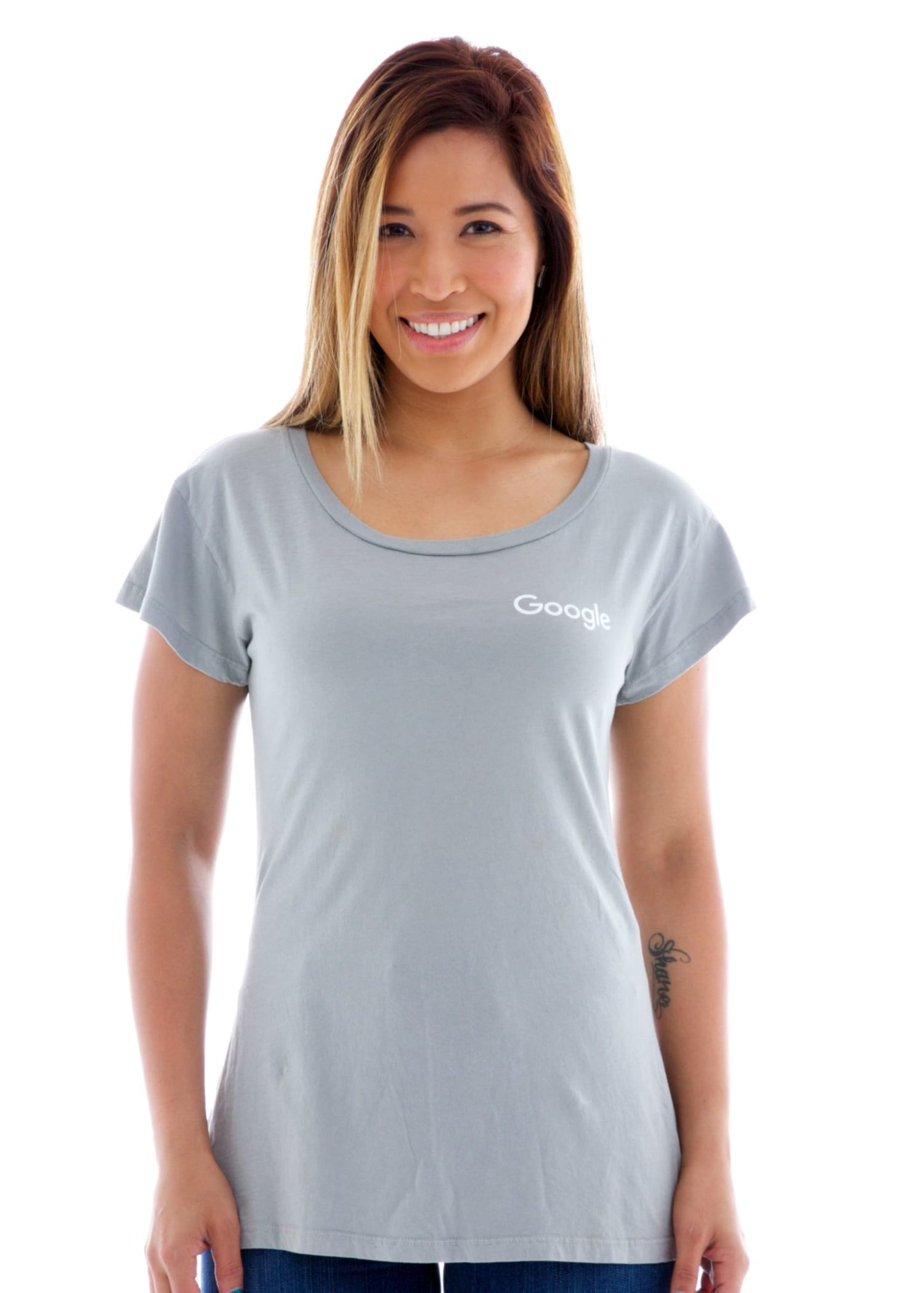 Women's Babydoll Crew Short Sleeve T-Shirt