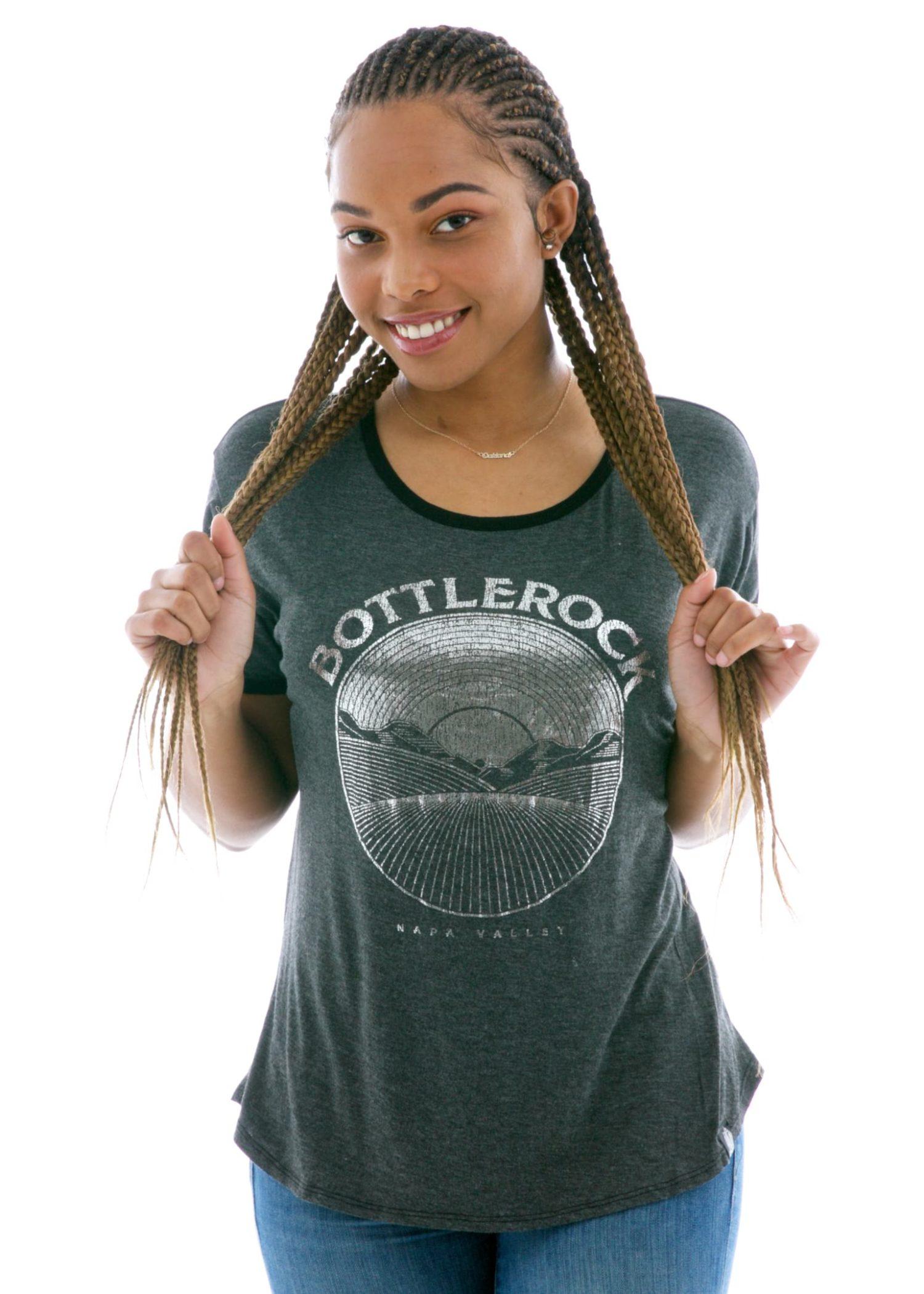 Women's Vintage Luxe Ringer Short Sleeve T-Shirt