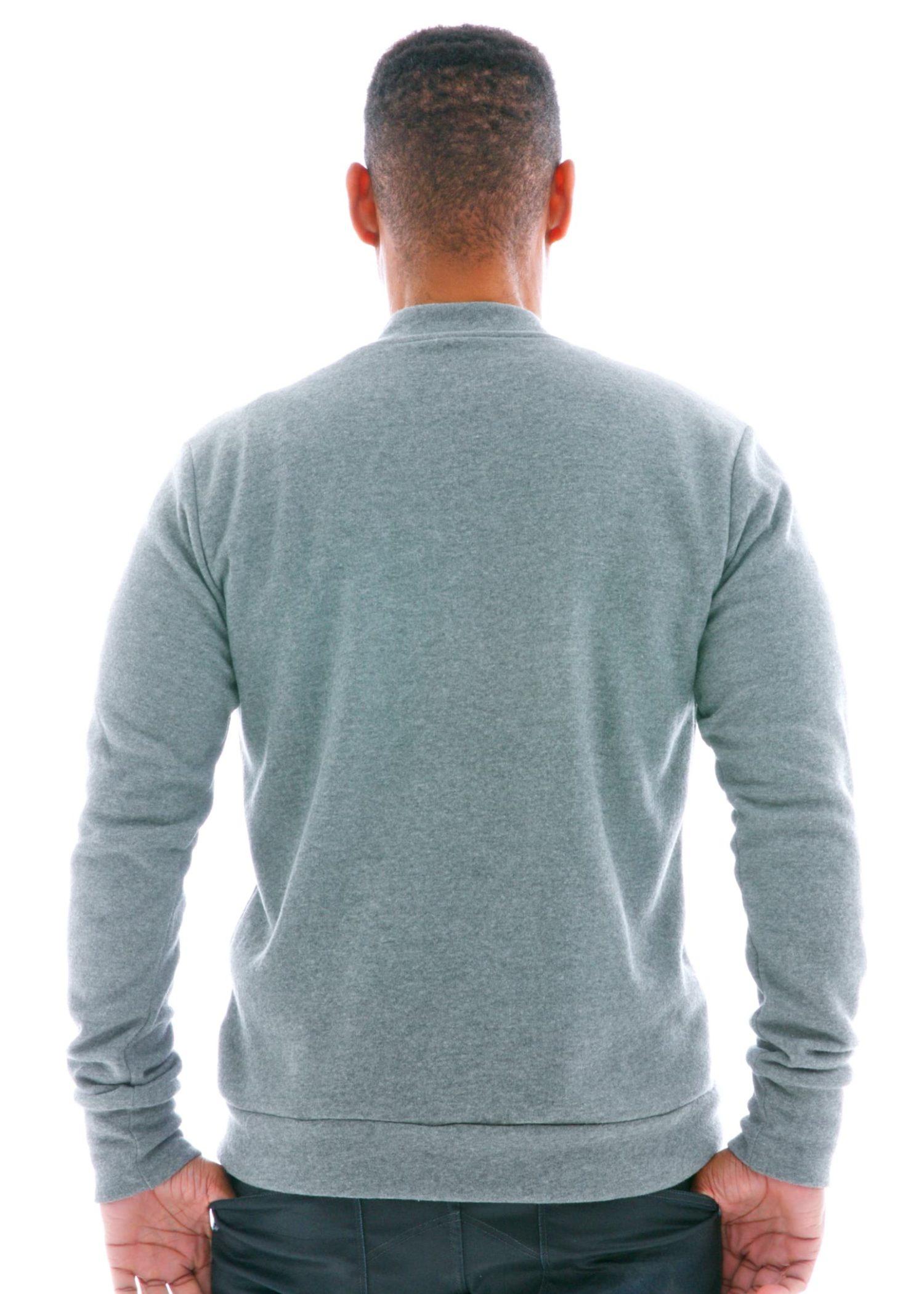 Fleece Track Jacket Back View