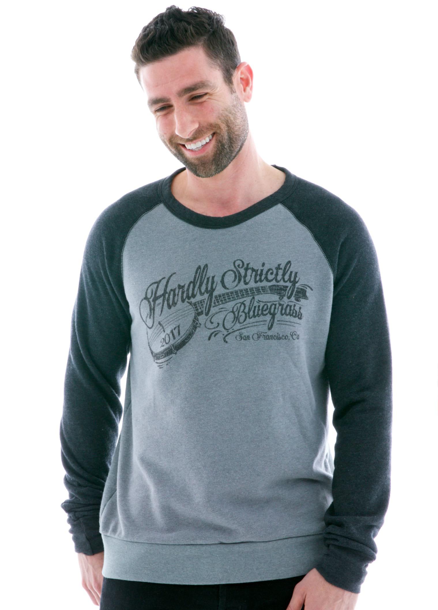 Contrast Sleeve Old School Long Sleeve Raglan T-Shirt with Logo
