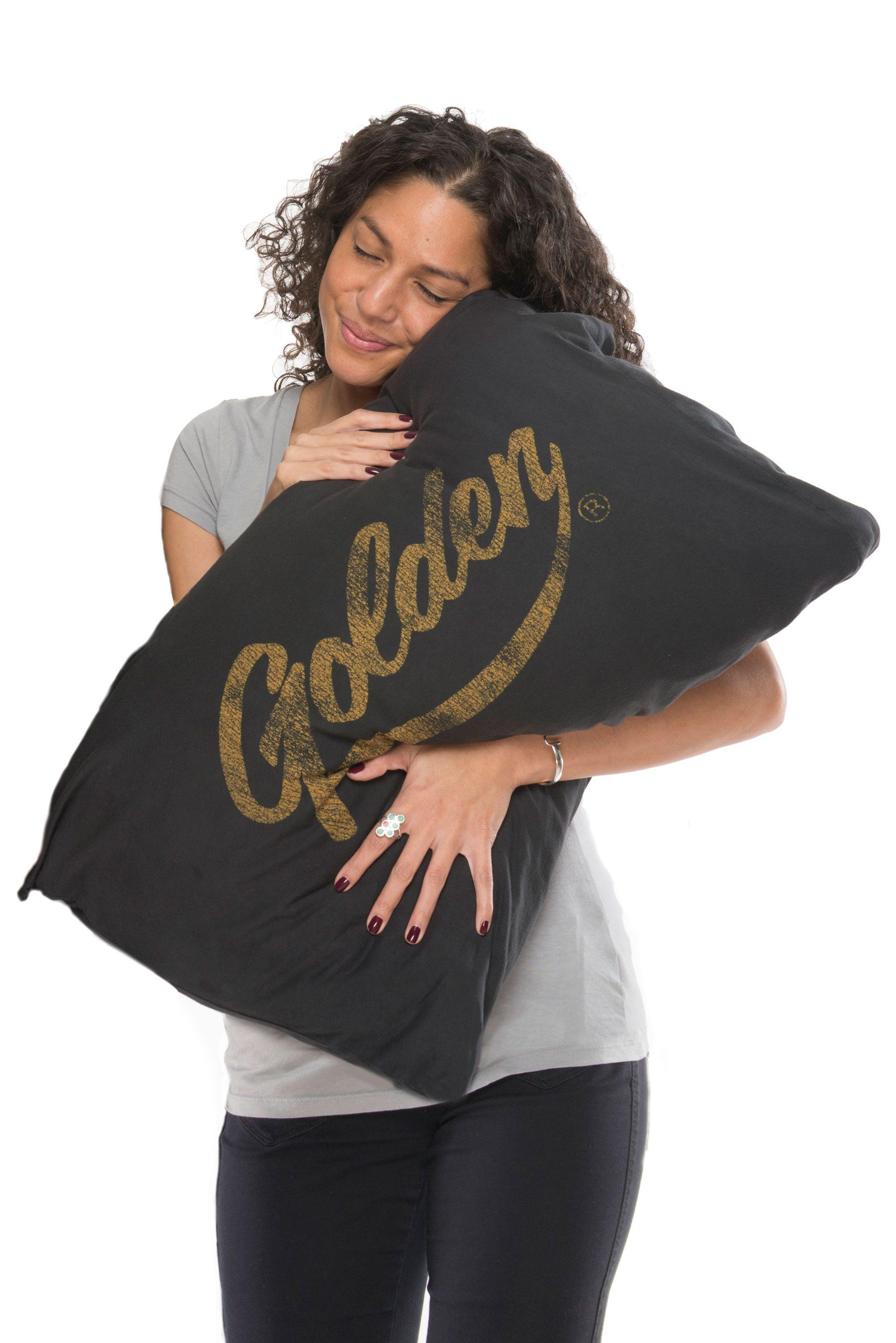 Jersey Cotton Pillowcase Front View