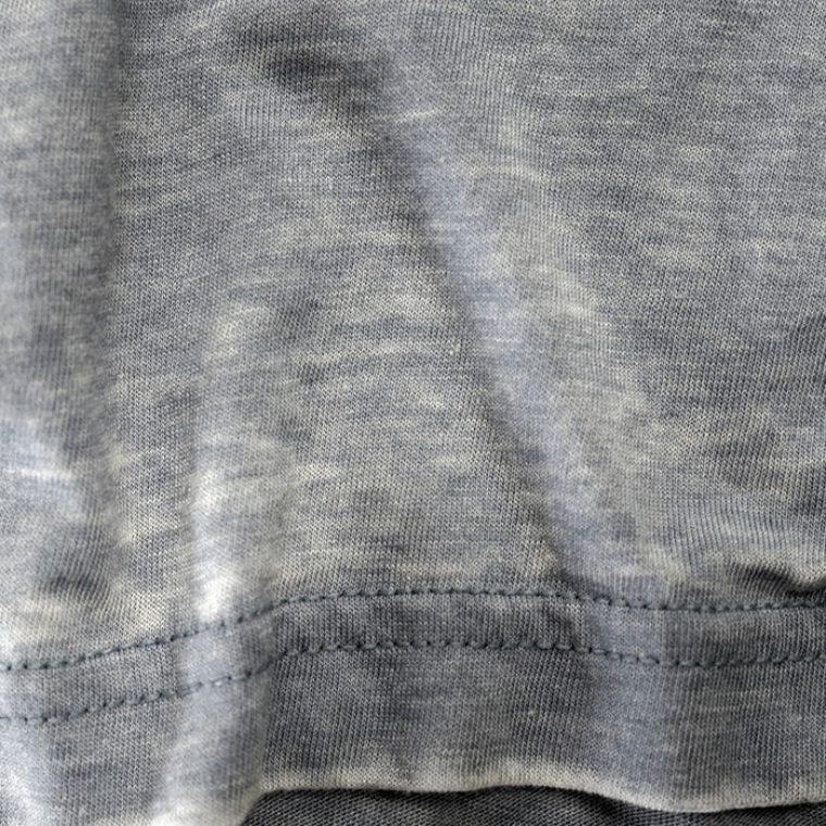 Subtle Burnout Washed Jersey Sample