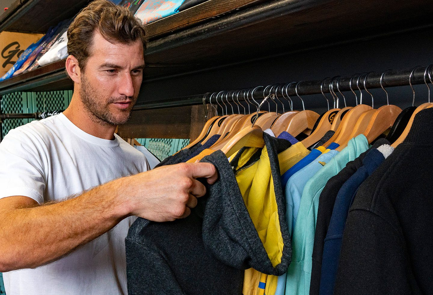 Branded Clothing Selection Process