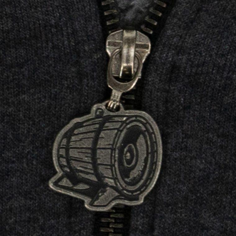 GG Molded Zipper Pull Sample
