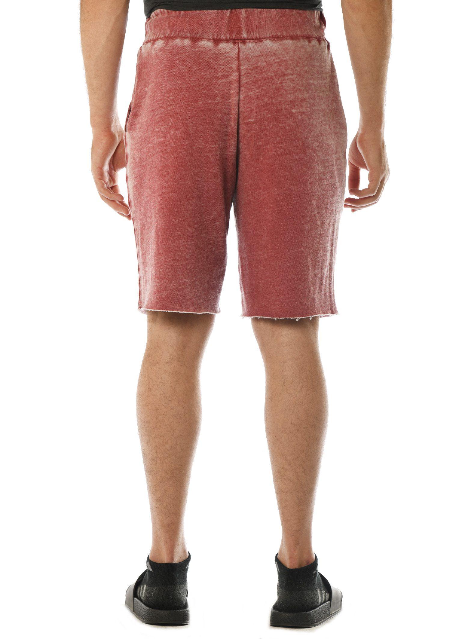 GG 315-FT-B Men's WornWash Shorts Back