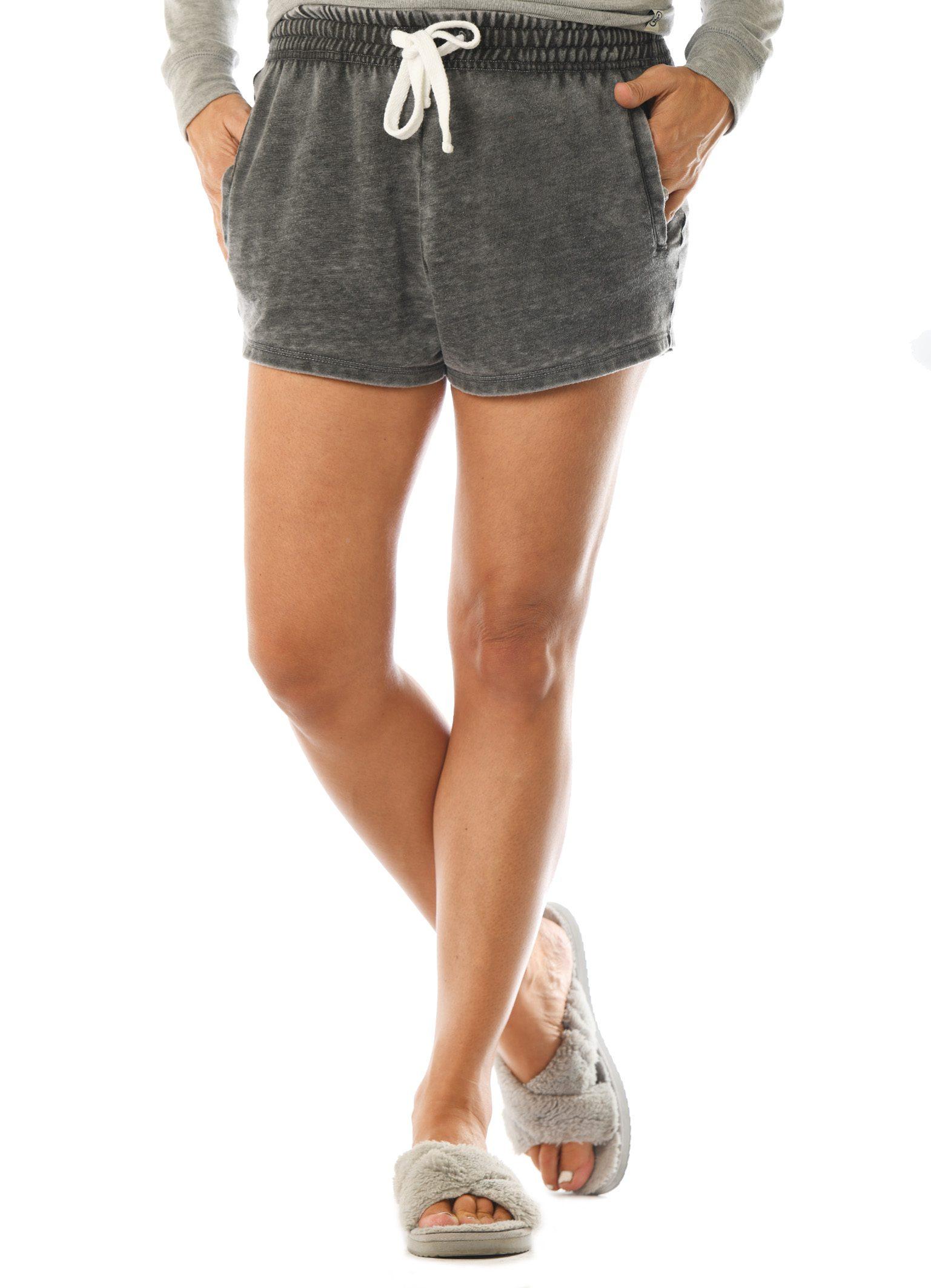 GG 362-B M Women's Worn Wash Shorts-Front