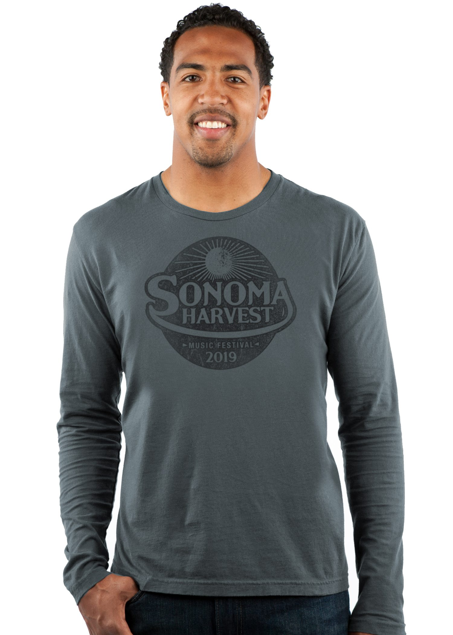 GG 701 Mens Select LS Crew front