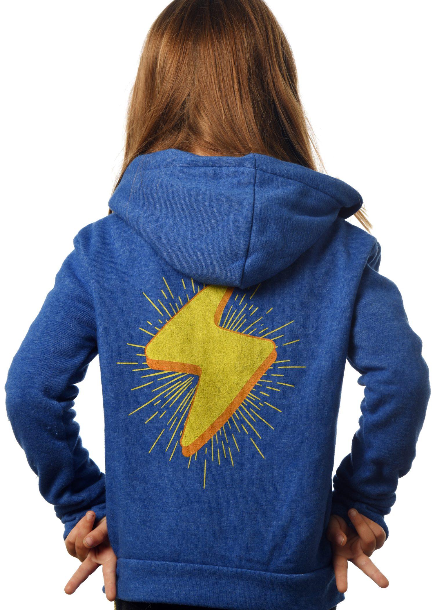 GG 899- Kids Zip hoodie back