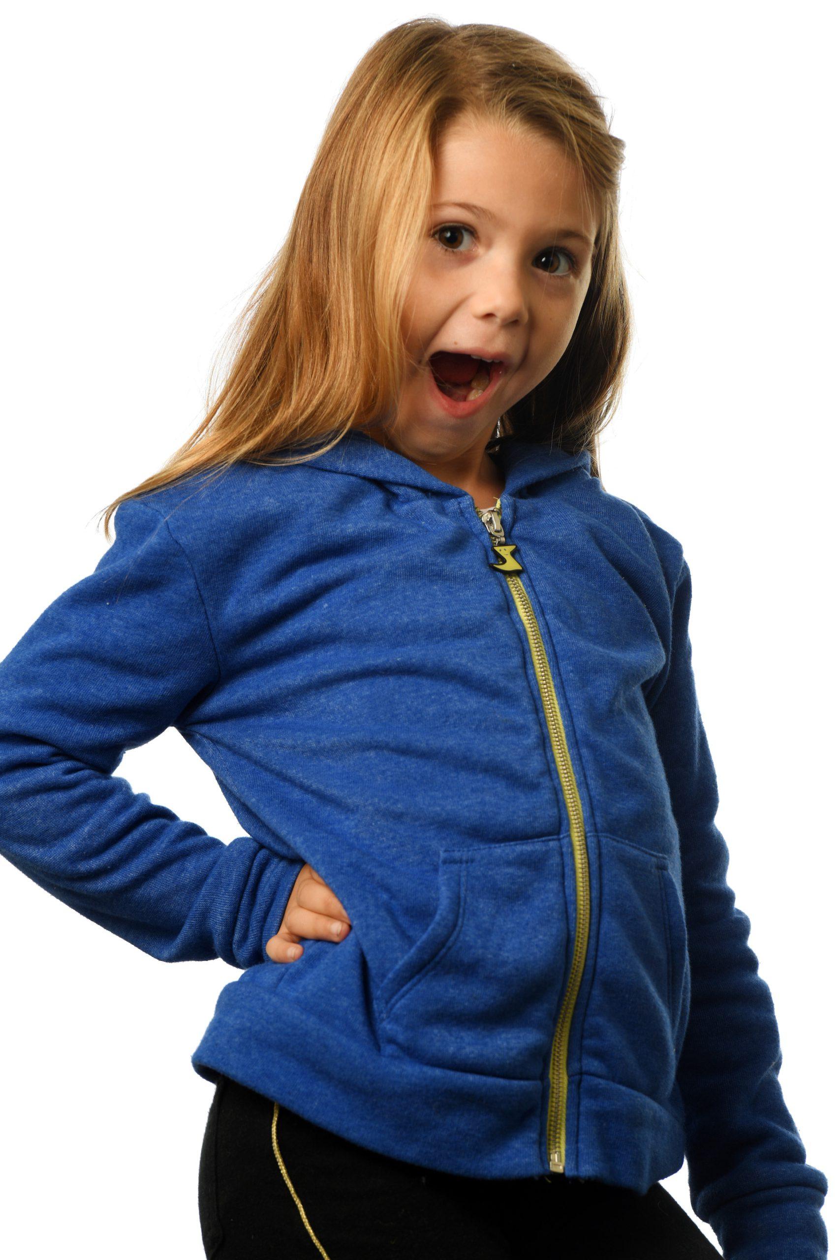 GG 899- Kids Zip hoodie front 2