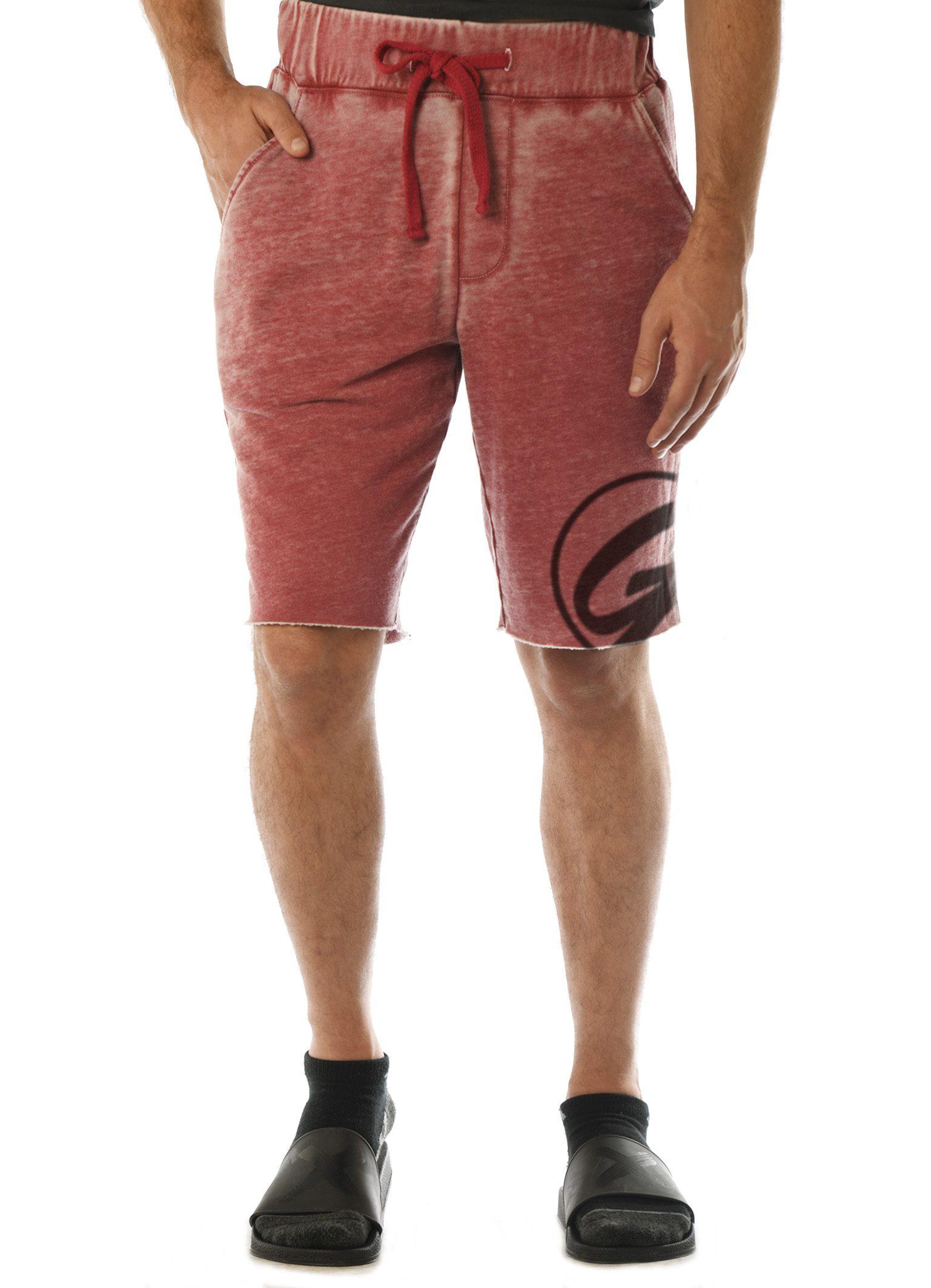 GG 315-FT-B Men's WornWash Shorts-front GG-X