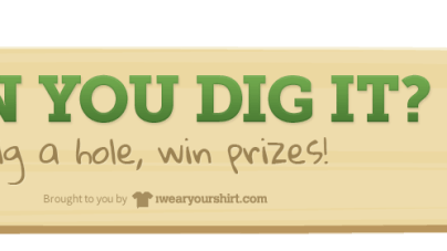 can you dig it? Instant Win game