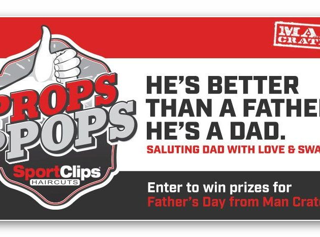 Sports Clips Father's Day Sweepstakes