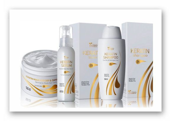 Win 1 of 3, Keratin Hair Care Sets (3 products)