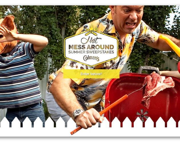 Colman's Hot Mess Around Summer Sweepstakes