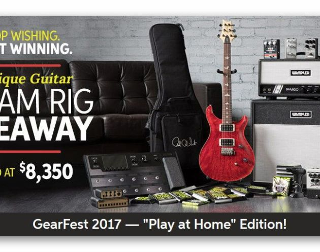 Boutique Guitar Dream Rig Giveaway