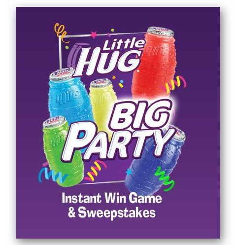Little Hug Big Party Instant Win Sweepstakes